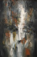 ann-pollard---orange-grey-abstract-landscape