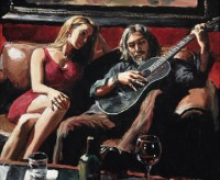 fabian-perez---self-portrait-with-girl-and-guitar