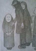 lowry-family-discussion-unframed