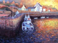 alexander-miller-a-new-day-dawns-crail-harbour